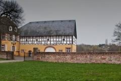 Jägersburg, Gustavsburg mit Hubertuskapelle