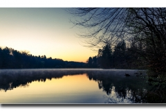 Sonnenaufgang am Möhlwoog